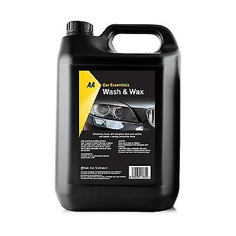 Lavado y cera Car Shampoo 5L con Wash Mitt AA Car Essentials añadido