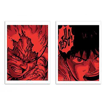 2 Art-Poster - Tetsuo x Kaneda - Joshua Budich