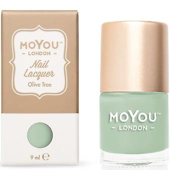 MoYou London Stamping Nail Lacquer - Olive Tree 9ml (MN037)
