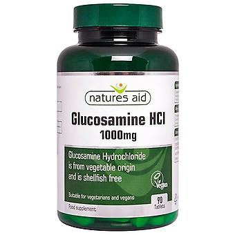 Nature's Aid glucosamine HCl 1000mg tabletten 90