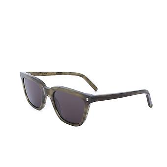 Monokel Eyewear Robotnik Green Demi  Grey Lens Sunglasses