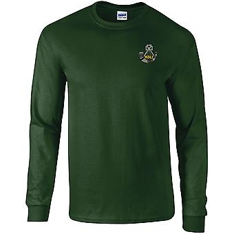 Kings Shropshire Light Infantry - Licensed British Army Embroidered Long Sleeved T-Shirt