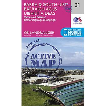 Barra & South Uist - Vatersay & Eriskay (February 2016 ed) by Ordnanc