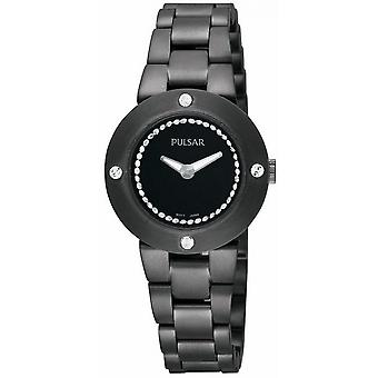 Pulsar athens Quartz Analog Woman Watch with STAINLEss Steel Bracelet PTA407X1