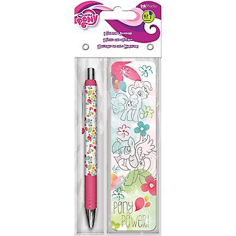 Gel Pen - My Little Pony - w/Bookmark Packs Toys Gifts Stationery New iw3543