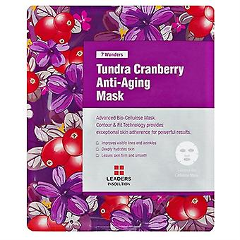 Leaders Insolution 7 Wonders Tundra Cranberry Anti-Aging Mask 1 Sheet