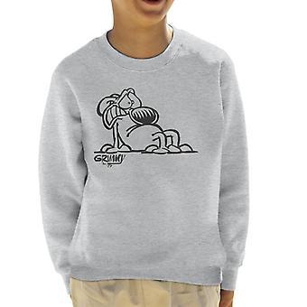 Grimmy Afraid Kid's Sweatshirt