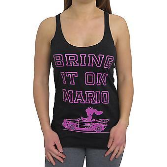 Super Mario tuo se naisten ' s Racerback säiliön alkuun