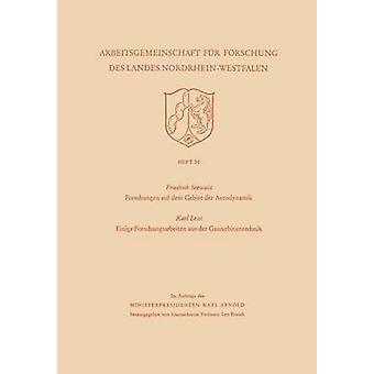 Forschungen auf dem Gebiet der Aerodynamik. Einige Forschungsarbeiten Aus der Gasturbinentechnik av Seewald & Karl