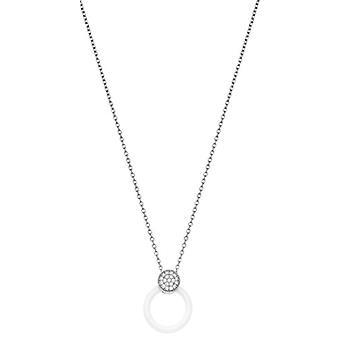 Ceranity Woman 925 Silver White Zirconium Oxide FASHIONNECKLACEBRACELETANKLET 1-72/0053-B
