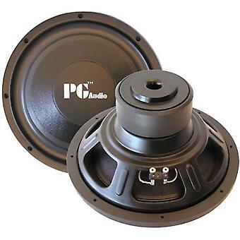 PG ljud E124, 12 ' 30 cm subwoofer, 600 watt max 1 bit!