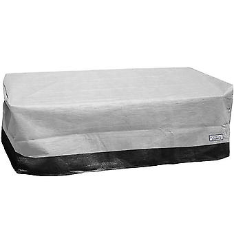 Outdoor Patio Rectangular Ottoman / Side Table Furniture Cover - 32