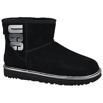 UGG Classic Mini UGG Rubber Logo 1110087-BMT Womens winter boots