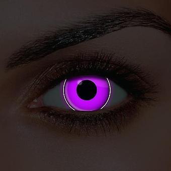 i-Glow Violet UV Contact Lenses (Pair)