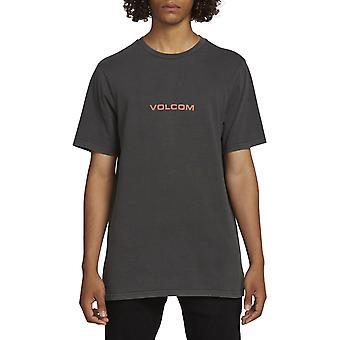 T-shirt à manches courtes Volcom Little Europe en noir
