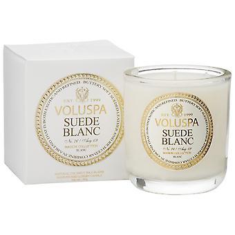 Voluspa Classic Maison Boxed Votive Candle Suede Blanc 85g