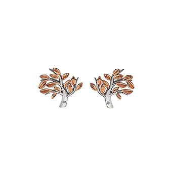 Hot Diamonds Passionate Rose Gold Plated Earrings DE566