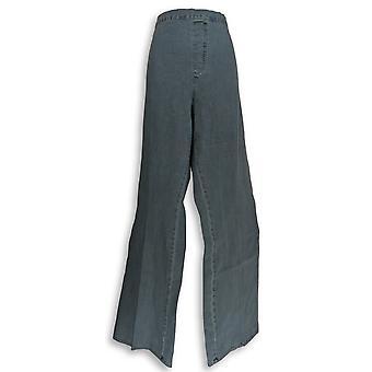 Isaac Mizrahi Live! Vrouwen ' s jeans 24/7 denim Boot Cut blauw A270049