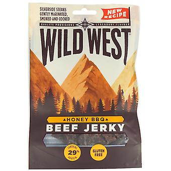 Wild West Honey BBQ Beef Jerky 70G X 6