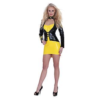 GP Datex Mini klänning-gul