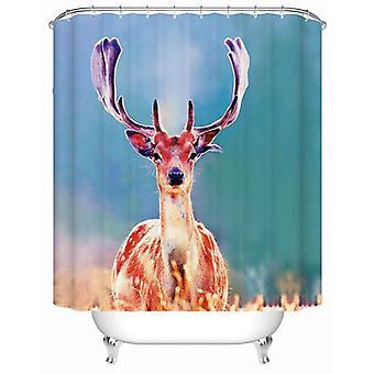 Sunshine Deer Shower gardin