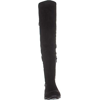 American Rag Adarra over-the-Knee Boots svart mikrofiber 5M