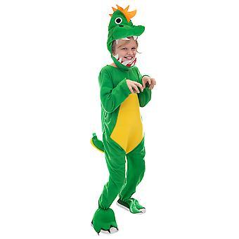 Jurassic Dinosaur Costume T-Rex Dino Suit, S