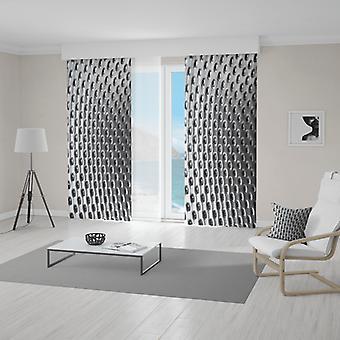 Meesoz Curtain - Silver Holes