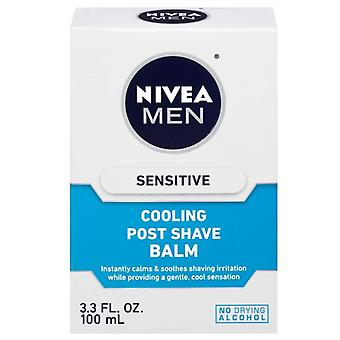 Nivea men sensitive cooling post shave balm, 3.3 oz