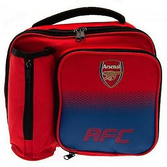 Arsenal FC Fade Lunch Bag with Bottle Holder