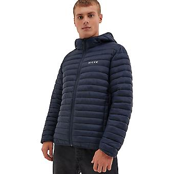 NICCE Maidan Hooded Puffer Jacket Navy 12