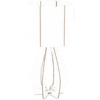 Wellindal Table luminaire 1 Light E27 White Cossano