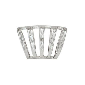 Evig samling sølv bands tørklæde ring