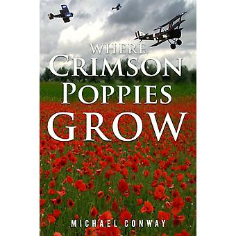 Where Crimson Poppies Grow by Conway & Michael