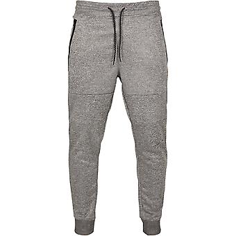 Southpole Men's Jogging Pants Zipper Pocket Marled Tech Fleece