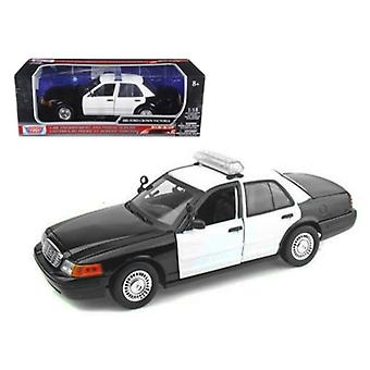 Ford Crown Victoria Unmarked Police Car 1/18 Diecast Model Car par Motormax