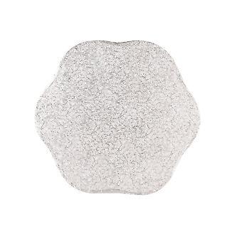 """Culpitt 14 """"(355mm) Cake Board Petal zilveren Fern-single"""