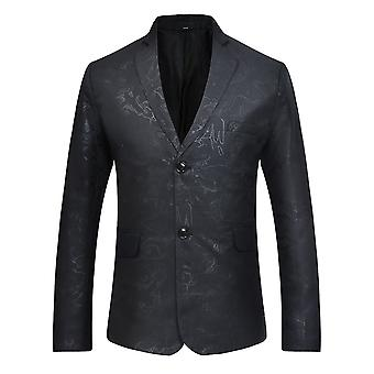 Allthemen Men 's 2 Button Blazer Black Wedding Party Formal Dress Jackets Allthemen Men 's 2 Button Blazer Black Wedding Party Formal Dress Jackets Allthemen Men & apos;s 2 Button Blazer Black Wedding Party Formal Dress Jackets