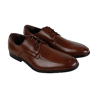 Unlisted by Kenneth Cole Win-Ner Takes All Mens Brown Dress Oxfords Shoes