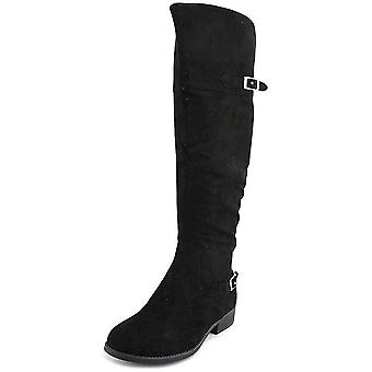 American Rag Womens American Rag Adarra Leather Closed Toe Knee High Fashion ...