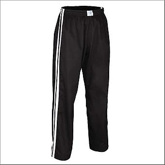 Bytomic adult double stripe contact pant black/white
