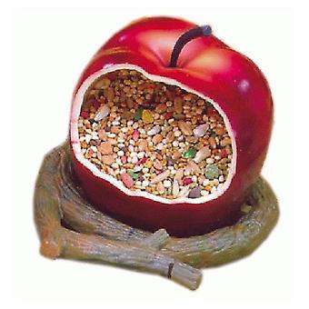 Sandimas Vogelhäuschen Apfel (Vögel , Futter und Wassernäpfe , für Käfige)