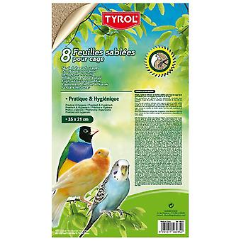 Tirol 8 Kum Yaprak S (Kuşlar , Yatak & Çöp)