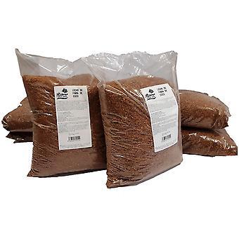 Ribero lechero de fibra de coco para roedores (mascotas pequeñas, ropa de cama)