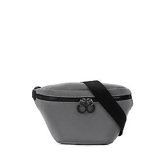 Dolce E Gabbana Bm1760aj640h1ii7 Hombres's Bolsa de Nylon de Plata