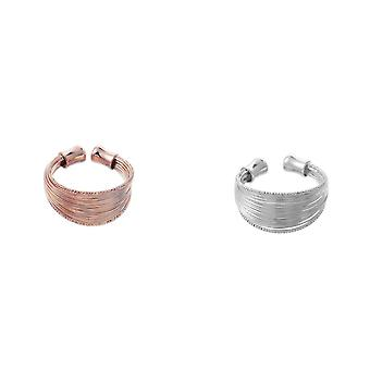 Intrigue Femmes/Dames Multi Strand Ring