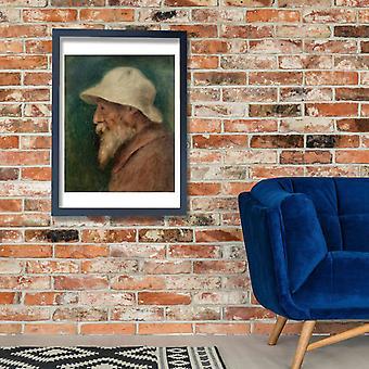 Pierre Auguste Renoir - Autoportrait Poster impressão giclée
