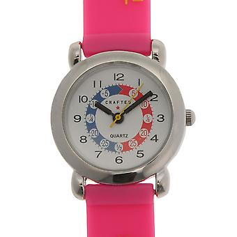 Crafted Essentials Filles Alphabet Watch Kids