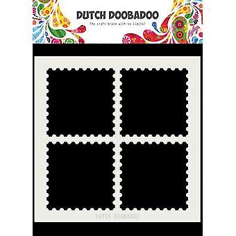 Hollanti Doobadoo Hollanti Mask Art 15x15cm Postimerkit 470.715.616