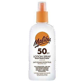 Malibu Beskyttende Suntan Spray Lotion - SPF50 200 ml